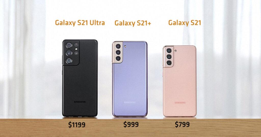 dòng Galaxy S21