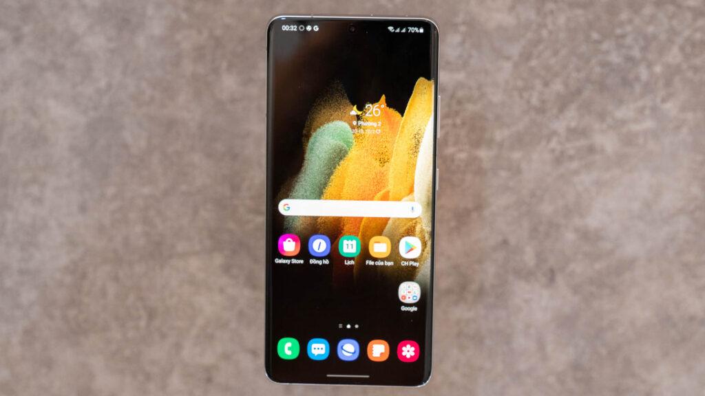 Đánh giá về điện thoại Samsung Galaxy S21 Ultra