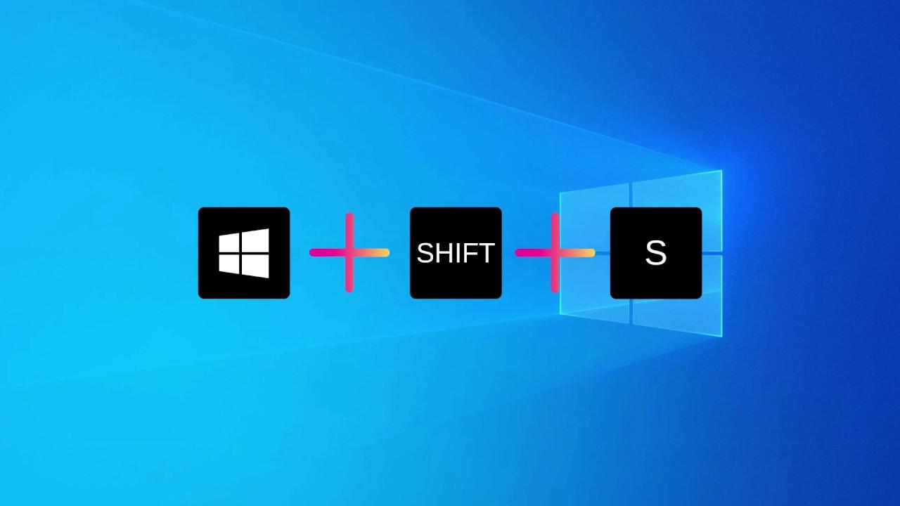 Shift + Windows + S