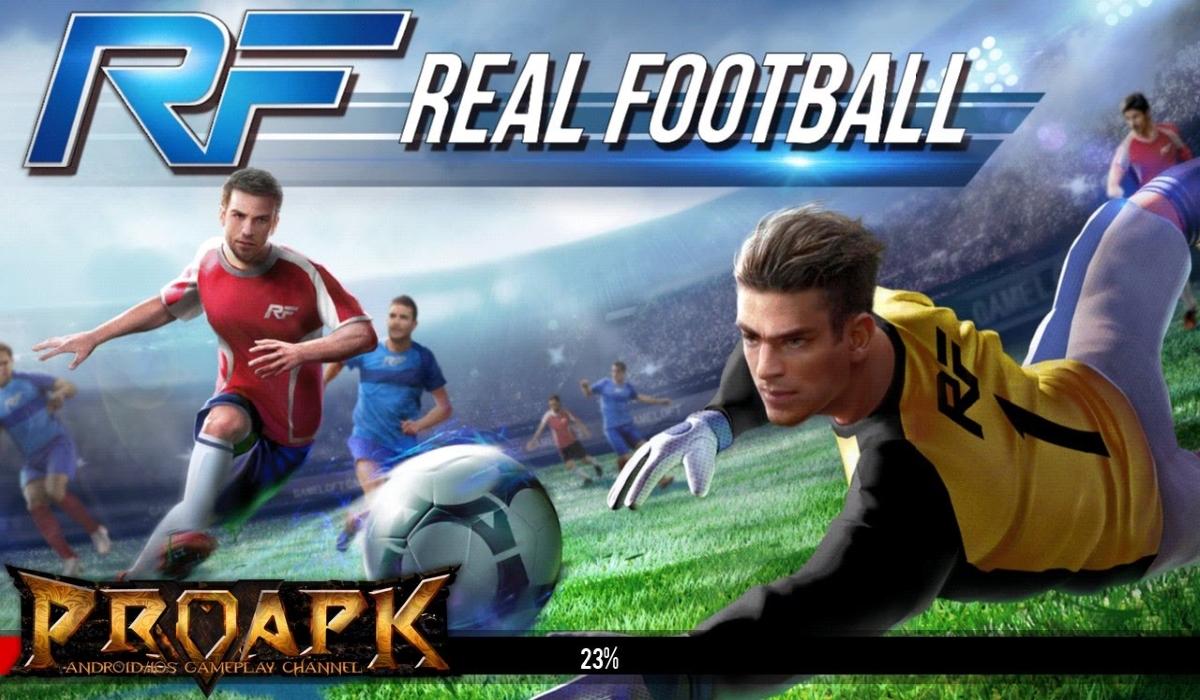 Real Football - Game đá bóng dung lượng thấp