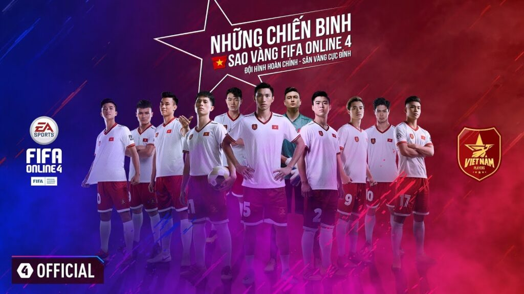 Game Fifa Online 4 xuất hiện trong Sea games 31