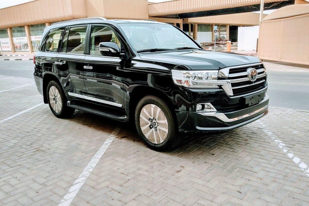Toyota Land Cruiser được sử dụng phổ biến cho các nguyên thủ trên thế giới