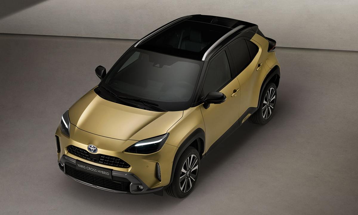 Toyota Yaris Cross 2021 có công nghệ xe ấn tượng